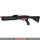 UKARMS Tri Shot Shell Loading RIS Shotgun M180C1 - Retractable Stock Airsoft Shotguns- ModernAirsoft.com