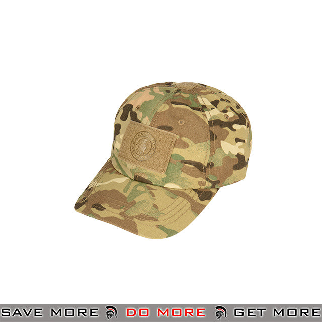 4bf746fab3560 Lancer Tactical VELCRO Morale Tactical Ball Cap w  Strap Back M2618C - Multicam  Head -