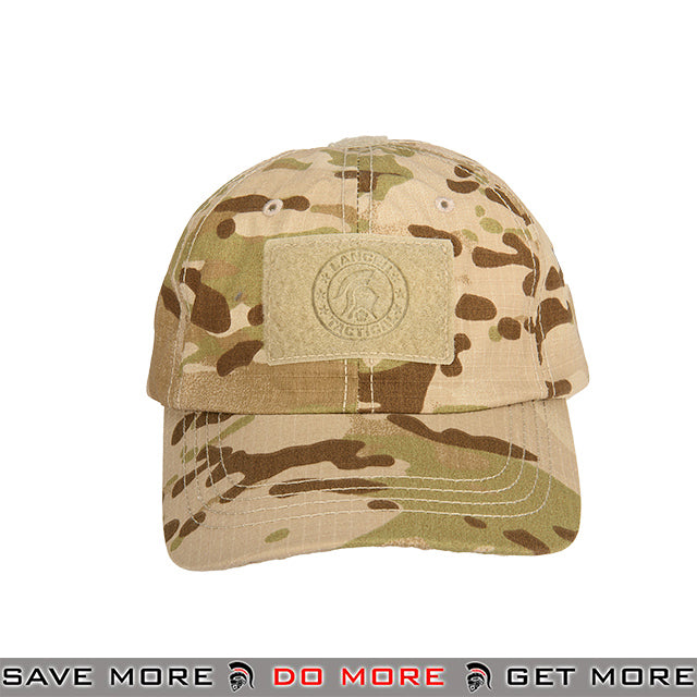 cb68d17e4136f Lancer Tactical VELCRO Morale Tactical Ball Cap w  Strap Back M2618MA -  Multicam Desert Head