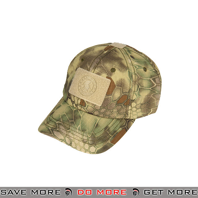 Lancer Tactical VELCRO Morale Tactical Ball Cap w/ Strap Back M2618M - Mandrake Head - Hats- ModernAirsoft.com