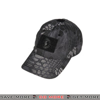Lancer Tactical VELCRO Morale Tactical Ball Cap w/ Strap Back M2618TP - Typhon Head - Hats- ModernAirsoft.com