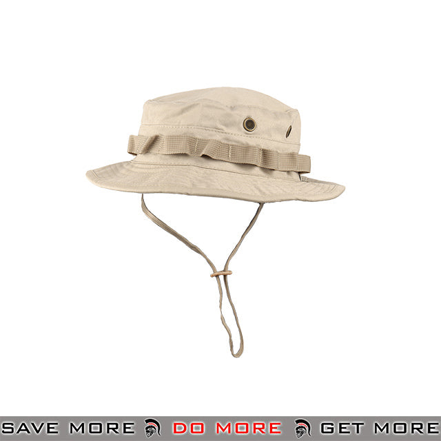 Lancer Tactical Ventilated Tactical Boonie Hat M2619T - Tan Head - Hats- ModernAirsoft.com