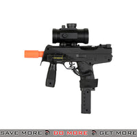 Double Eagle M30GL++ TMP Airsoft Spring Power Rifle w/ Scope, Laser Air Spring Rifles- ModernAirsoft.com