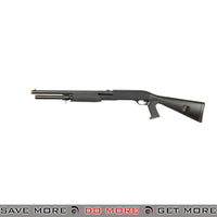 Double Eagle Tri Shot Shell Loading M3 Shotgun M56AL - Long, Pistol Grip, Full Stock Airsoft Shotguns- ModernAirsoft.com