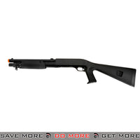 Double Eagle Tri Shot Shell Loading M3 Shotgun M56A - Short, Pistol Grip, Full Stock Airsoft Shotguns- ModernAirsoft.com