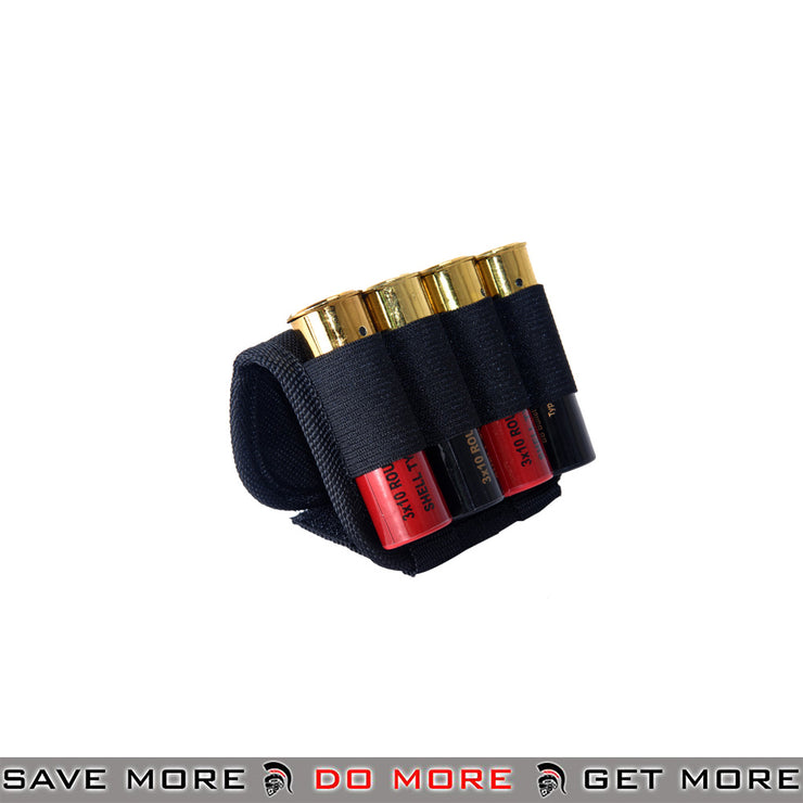 Double Eagle Tri Shot Shotgun Shell Holder Saddle Accessories- ModernAirsoft.com