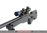 Double Eagle M59P Bolt Action Rifle, Scope and Bipod Bolt Action Sniper Rifle- ModernAirsoft.com