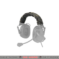 OPSMEN Earmor Earmuff Advanced Modular Headband Cover M61 - Multicam Black Head - Headsets- ModernAirsoft.com