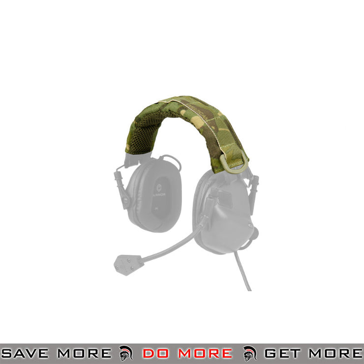 OPSMEN Earmor Earmuff Advanced Modular Headband Cover M61 - Multicam Tropic Head - Headsets- ModernAirsoft.com