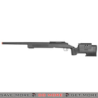 Double Eagle M62 Spring Powered Bolt Action Sniper Rifle  - Black Bolt Action Sniper Rifle- ModernAirsoft.com