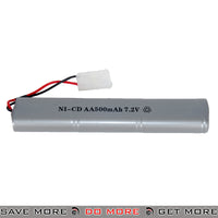 Double Eagle 7.2V 500 mAh Ni-Cad Battery for M83 Series LPAEG Battery Accessories- ModernAirsoft.com