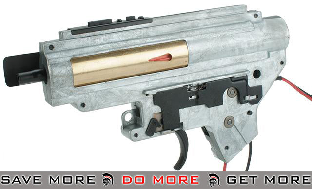 ICS UK1 Complete Integrated Gearbox for ICS EBB M4 Airsoft AEGs - Rear Wired Gearbox- ModernAirsoft.com