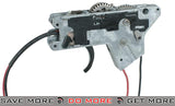 ICS M4 Complete Lower Gear Box w/ Wiring, Gears and Trigger Assembly (Front Wired) Gearbox- ModernAirsoft.com