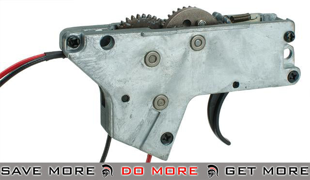 ICS Complete Lower Gearbox for UK1/MK3/M4 EBB MTR Stock Series Airsoft AEG Rifles Gearbox- ModernAirsoft.com