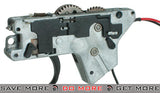 ICS Complete Lower Gearbox for MK3/M4 EBB Crane Stock Series Airsoft AEG Rifles Gearbox- ModernAirsoft.com