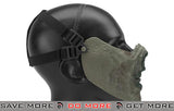 "6mmProShop  Iron Face Lower Half Mask ""Zombie"" - Zombie II Face Masks- ModernAirsoft.com"