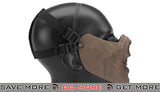 "6mmProShop  Iron Face Lower Half Mask ""Zombie"" - Undead Face Masks- ModernAirsoft.com"