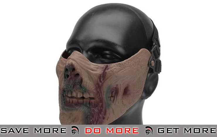 6mmProShop Iron Face Lower Half Mask