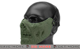 "6mmProShop Iron Face Lower Half Mask ""Zombie"" - OD Green"