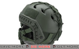 "6mmProShop ""Striker V1"" Iron Face Mesh Lower Half Mask for Use with Bump Helmets - OD with Skull"