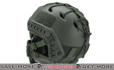 "Emerson ""Striker V1"" Iron Face Mesh Lower Half Mask for Use with Bump Helmets - OD with Skull"
