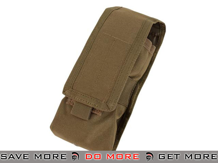 Condor Modular Accessory / Radio Pouch (Coyote Brown) Others / Pouch Accessories- ModernAirsoft.com