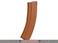 CYMA 900rd Hi-Cap Polymer Magazine for Airsoft AK Series AEG - (Color: Bakelite) Electric Gun Magazine- ModernAirsoft.com