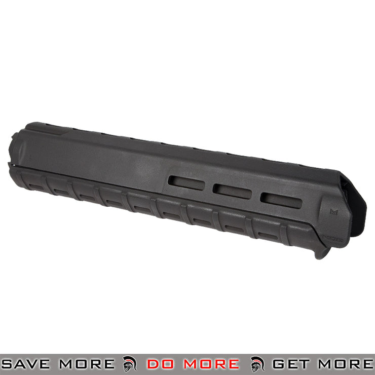 Magpul PTS MOE M-LOK Airsoft M16 Rifle Length Hand Guard - Black Hand Guards- ModernAirsoft.com