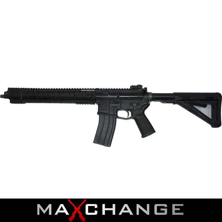 Maxchange Used/Custom Licensed KWA Full Metal Magpul PTS LM4 Airsoft GBB Gas Blowback Rifle
