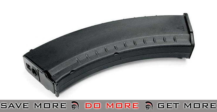 G&G Hi-Cap 600rds Magazine For AK Series AEG (Black) Electric Gun Magazine- ModernAirsoft.com