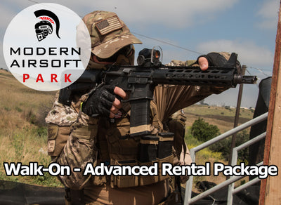 Modern Airsoft Park One Day Admission - Advanced Rental Package