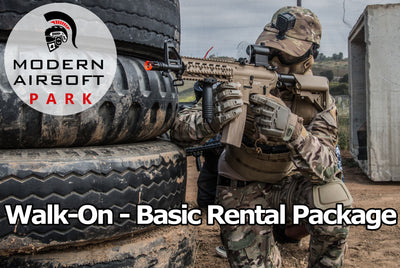 Modern Airsoft Park One Day Admission - Basic Rental Package