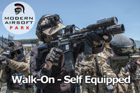 Modern Airsoft Park One Day Admission - Walk-On Self Equipped
