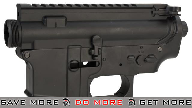 JG Engraveable Metal Body Receiver Set For M4 M16 Series Airsoft AEG (Black / Blank) Metal Bodies / Receivers- ModernAirsoft.com