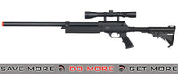 WELL Black Bolt Action Rifle w/ Scope Bolt Action Sniper Rifle- ModernAirsoft.com
