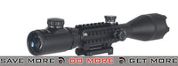 Lancer Tactical 4-16x 50mm Tri-Rail Illuminated Rifle Scope w/ Integrated Scope Mount Illuminated Scopes- ModernAirsoft.com