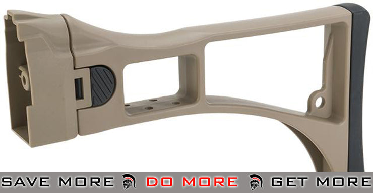 ICS Replacement G33 Folding Stock for G33 Series Airsoft AEG Rifles - Desert Airsoft- ModernAirsoft.com