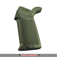 Magpul PTS MOE Grip for Airsoft M4 / M16 AEG Rifles - OD Green Motor / Hand Grips- ModernAirsoft.com