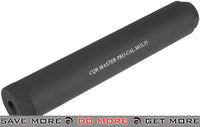CQB Master High Speed 180mm Mock Silencer Barrel Extension (14mm- & 14mm+) - Black Mock Silencer- ModernAirsoft.com