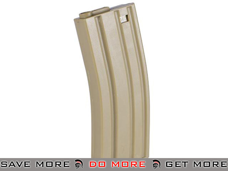 Dark Earth / One Elite Force 140rd Midcap Magazine for M4 / M16 Series Airsoft AEG Rifles Electric Gun Magazine- ModernAirsoft.com