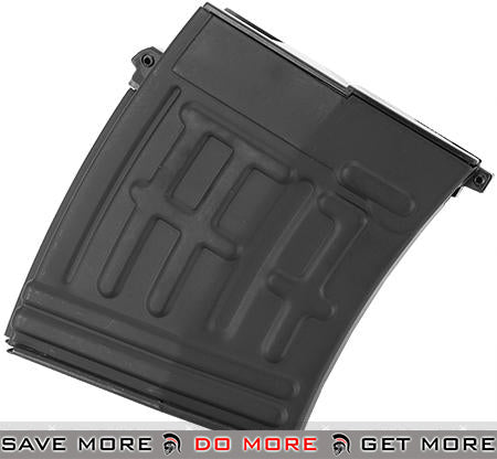 Spare 60rd for AK SVD Airsoft Sniper Rifles by A&K CA King Arms Matrix SVD II Sniper Rifle Magazine- ModernAirsoft.com