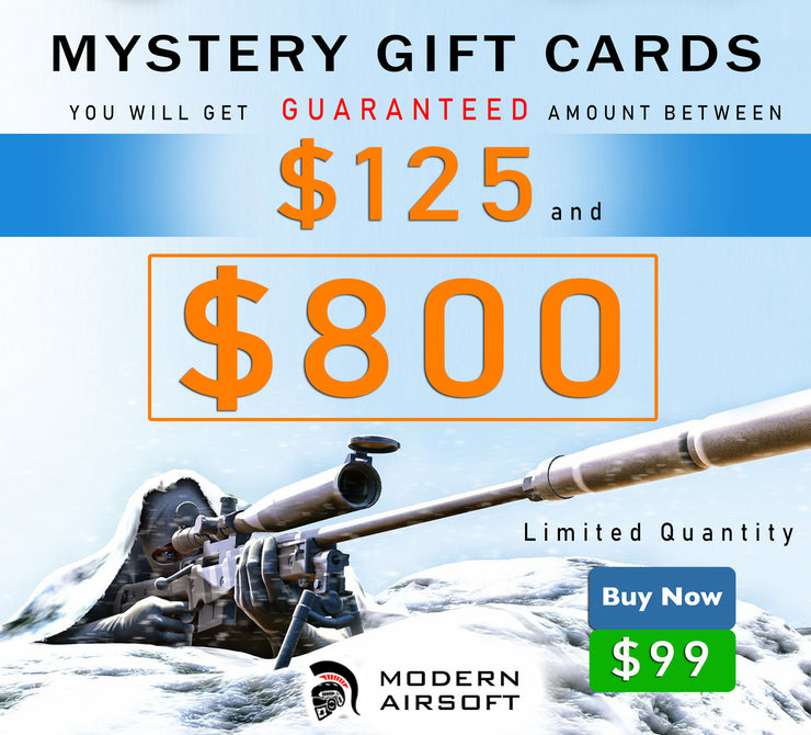Modern Airsoft Mystery Gift Card