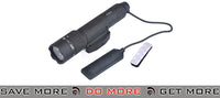 Night Evolution WMX200 Tactical Light NE04014 Fixed Rail Mount Version BK flashlight- ModernAirsoft.com