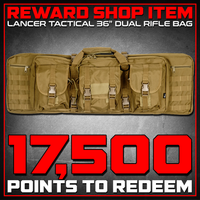"Reward Shop Item - Lancer Tactical 36"" Dual Rifle Bag (Tan) Gun Bags- ModernAirsoft.com"
