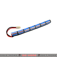 Tenergy NiMH 8.4V 1600mAh Rechargeable Stick Type Battery BBs, Batteries, Gas- ModernAirsoft.com