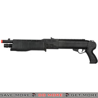 UKARMS Spring Powered Shell Loading Franchi SPAS Style Shotgun P2302BAG - Sawed Off Airsoft Shotguns- ModernAirsoft.com