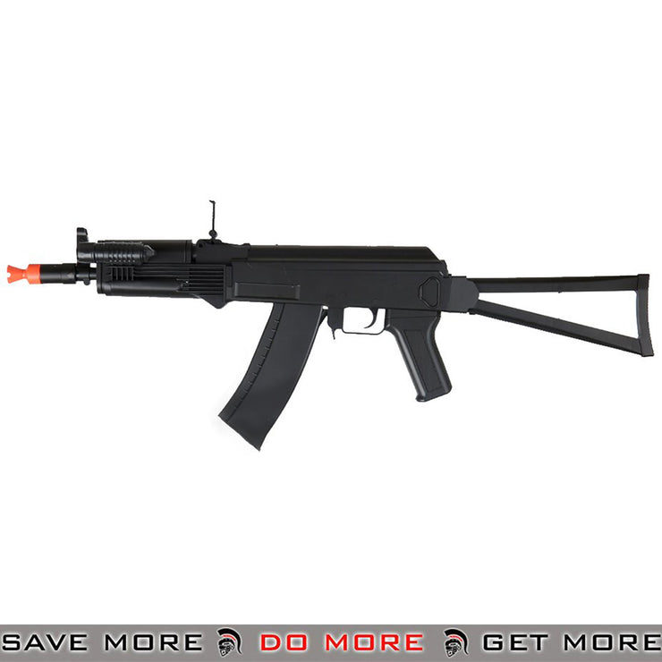 UKArms P74 AKS-74U Airsoft Spring Power Rifle w/ Laser, FLashlight