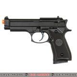 UKARMS P818 M9 Heavy Weight Metal Replica Spring Pistol - Black Air Spring Pistols- ModernAirsoft.com