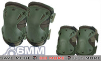 6mmProShop Elbow & Knee Pad Set (Woodland) Knee / Elbow Pads- ModernAirsoft.com