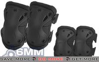 6mmProShop Elbow & Knee Pad Set (Black) Knee / Elbow Pads- ModernAirsoft.com